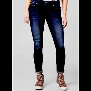 NEW Miss Me Nicole 5 pocket low rise skinny jeans